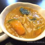 かぼちゃときのこのとろみカレースープ