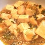 王道の麻婆豆腐