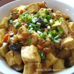 カレー味噌麻婆豆腐