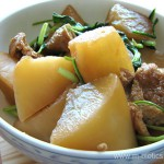 大根と水菜のじんわり煮