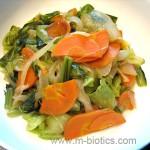 野菜の塩炒め