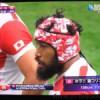 【2015】ラグビーワールドカップでハワイ柄のヘッドギアをつけていた選手が気になる