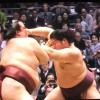 遠藤が大関戦に初勝利! ザンバラ髪では史上初の快挙!【2014春場所】
