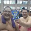 【大相撲】遠藤と天風の、意表を突く三度目のツーショット写真~二人の友情を見守る