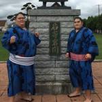 【大相撲】札幌場所と同じ日に名寄市に来ていた力士二名(萬華城、松栄)にびっくり【2015】