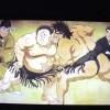 アニメ「暴れん坊力士! 松太郎」の冒頭絵が相撲錦絵に似ていると気づいた
