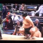 【大相撲】坂元(大奄美)が、取り組み後に土俵を降りる方向を間違えそうになるハプニング